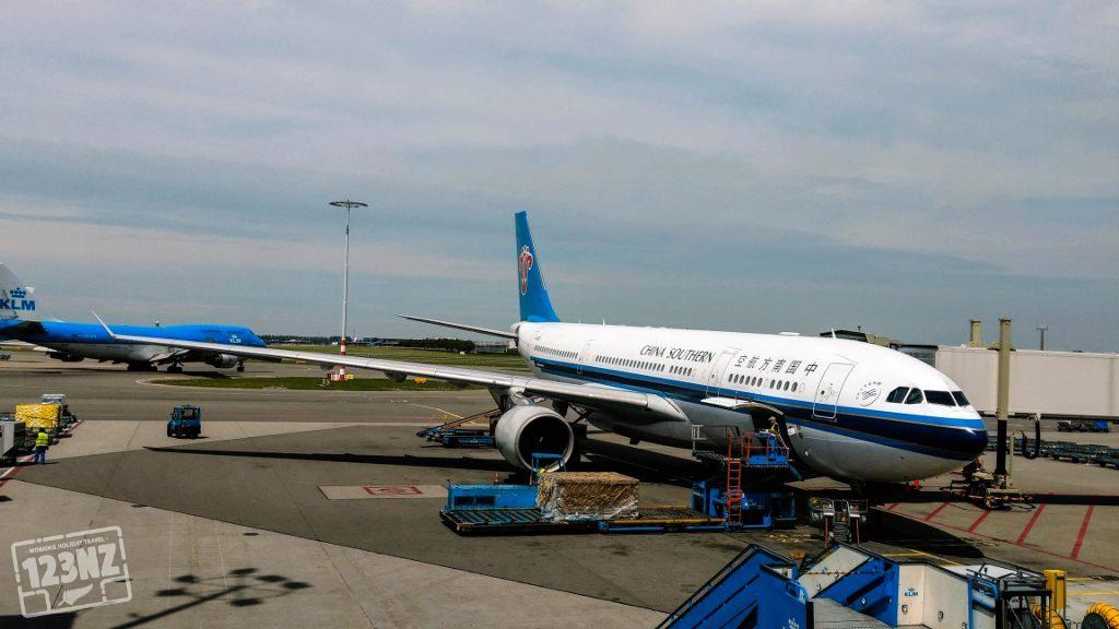 China Southern Airlines op Schiphol